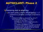 autoclust phase 2