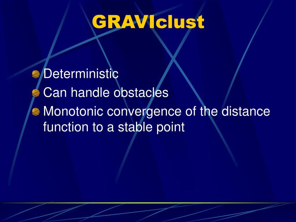 GRAVIclust