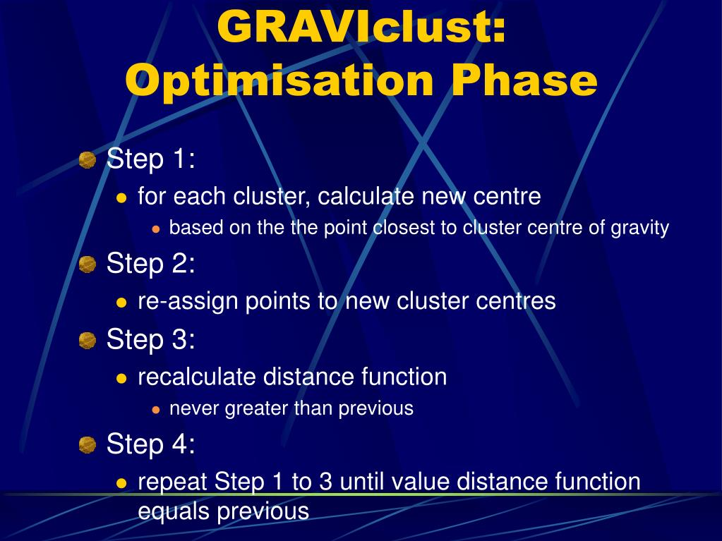GRAVIclust: Optimisation Phase