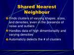 shared nearest neighbour40