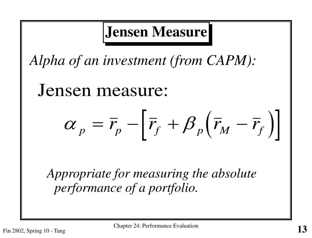 Jensen Measure