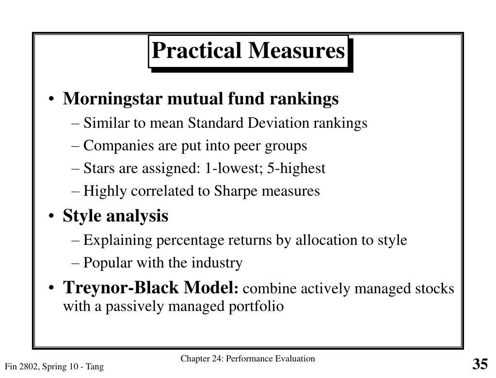 Morningstar mutual fund rankings