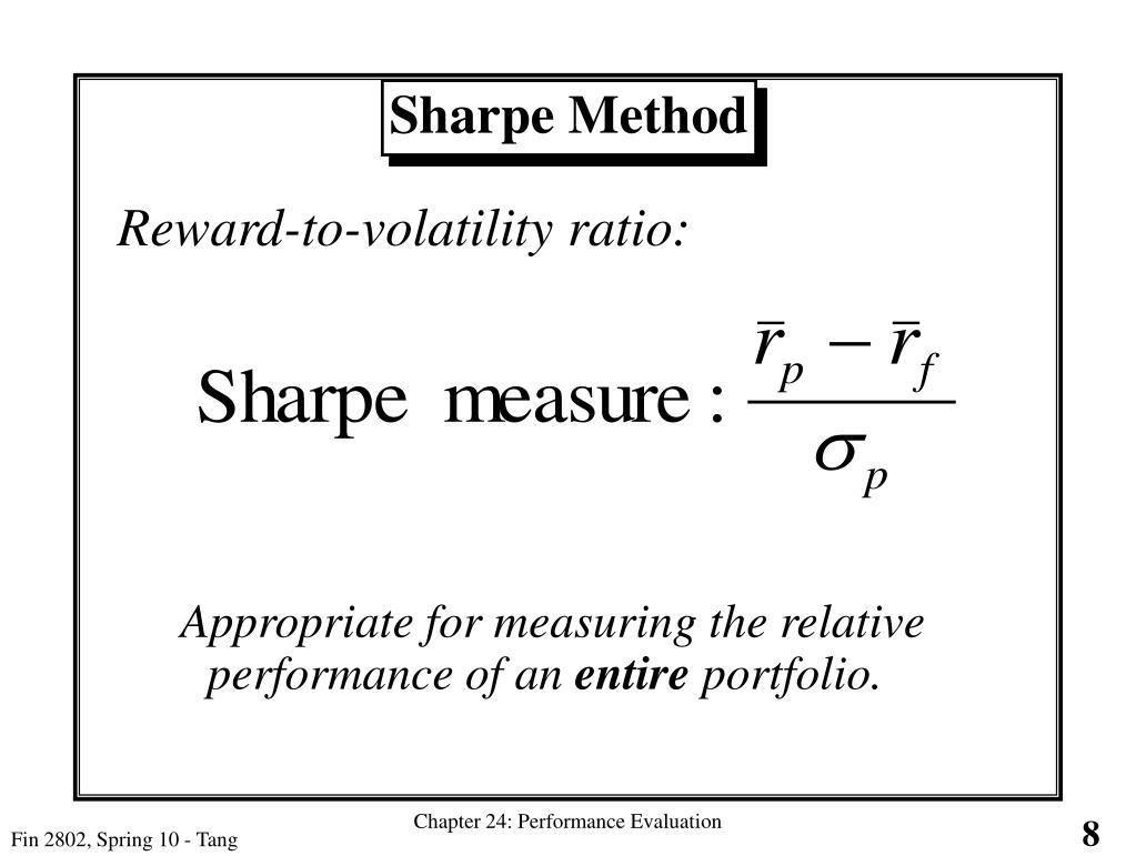 Sharpe Method
