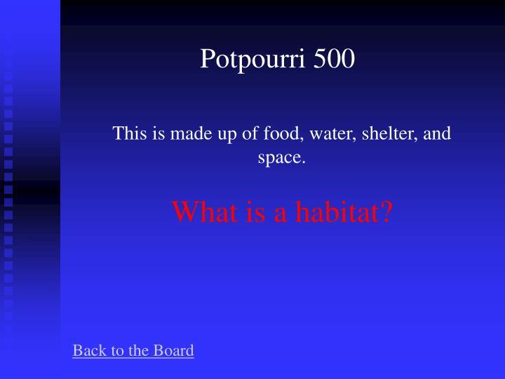 Potpourri 500