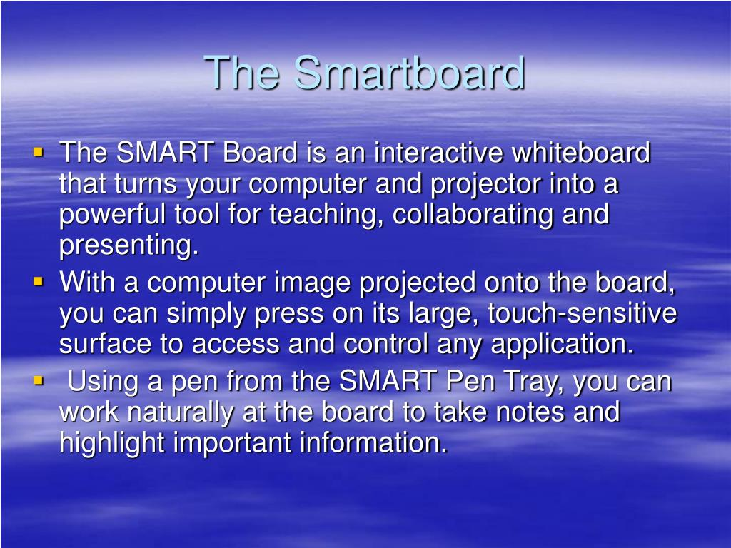 The Smartboard