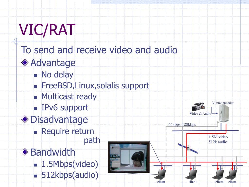Vic/rat encoder