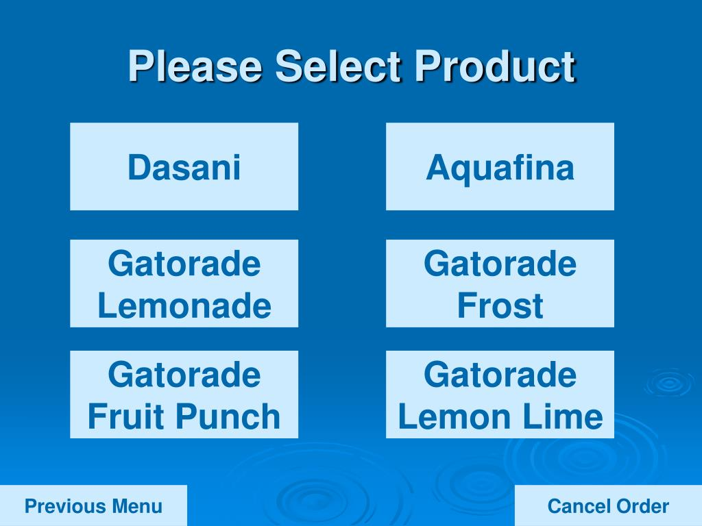 Please Select Product