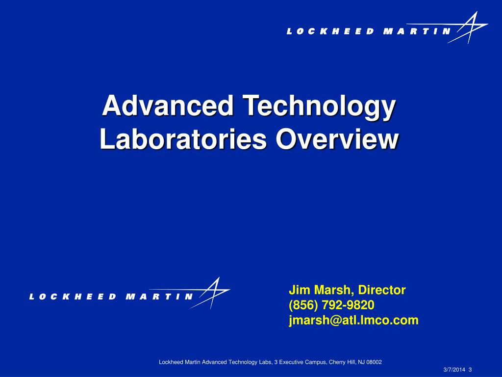 Advanced Technology Laboratories Overview
