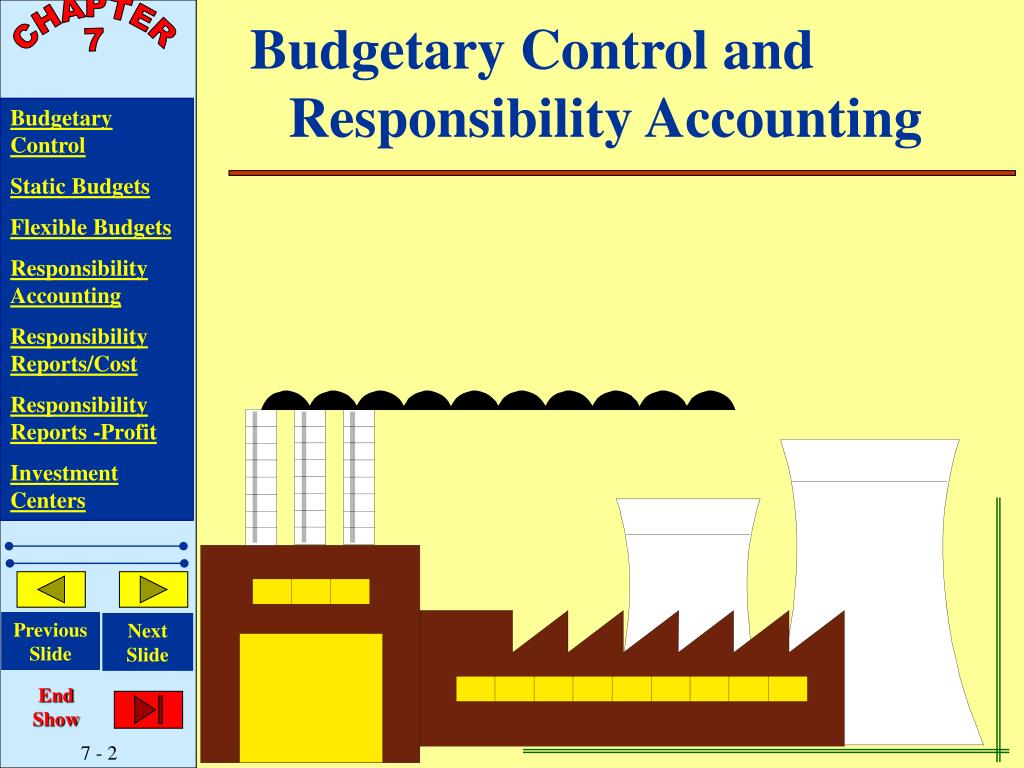 Budgetary Control and Responsibility Accounting