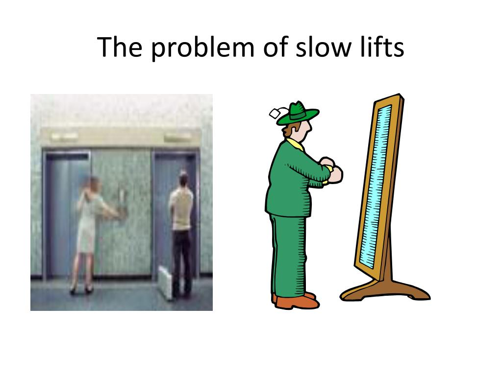The problem of slow lifts