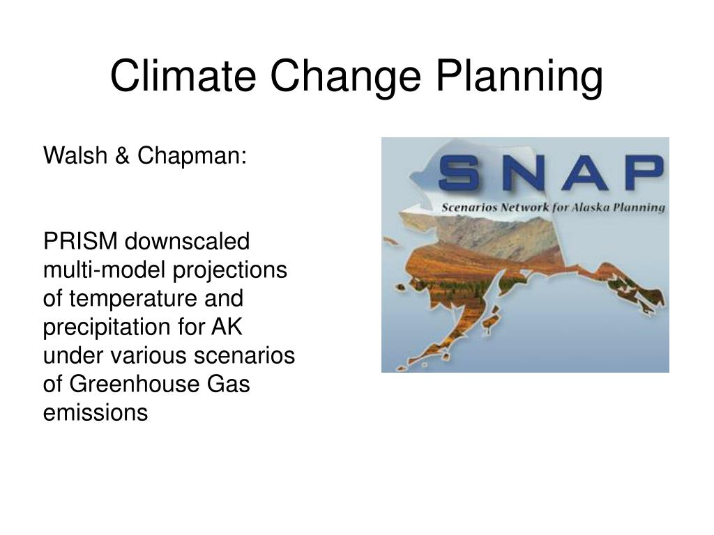 Climate Change Planning