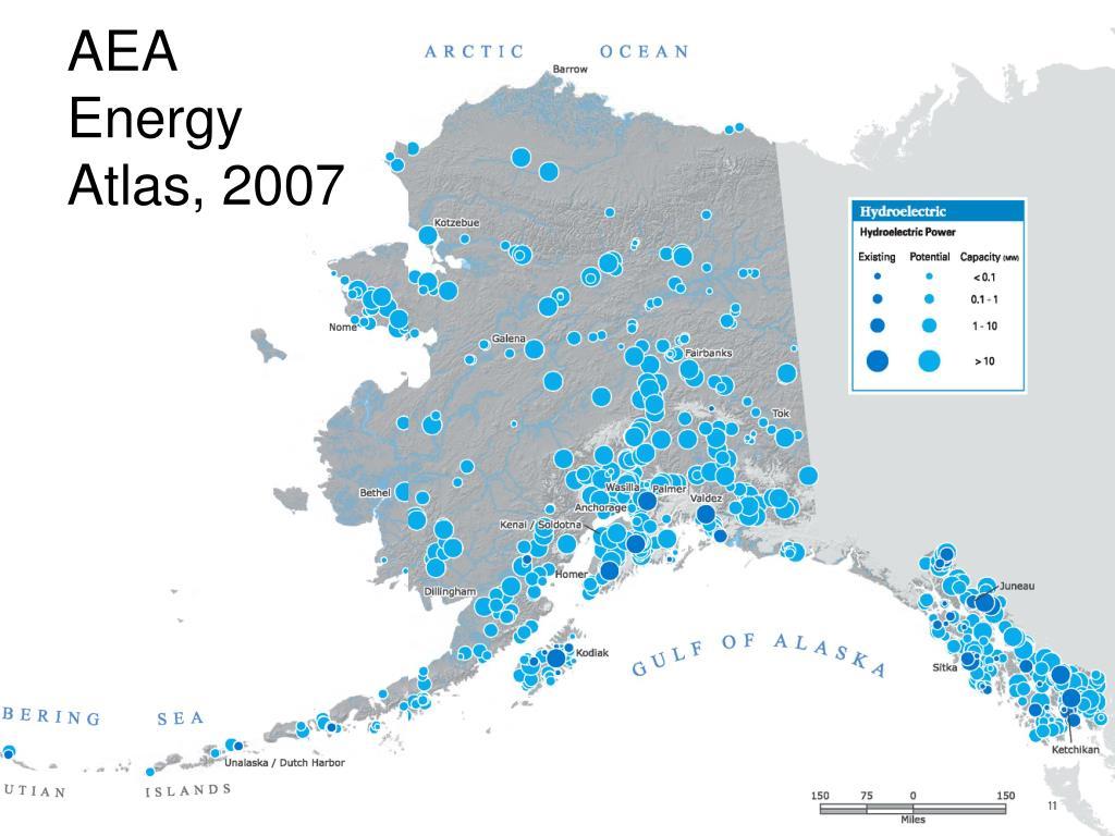 AEA Energy Atlas, 2007