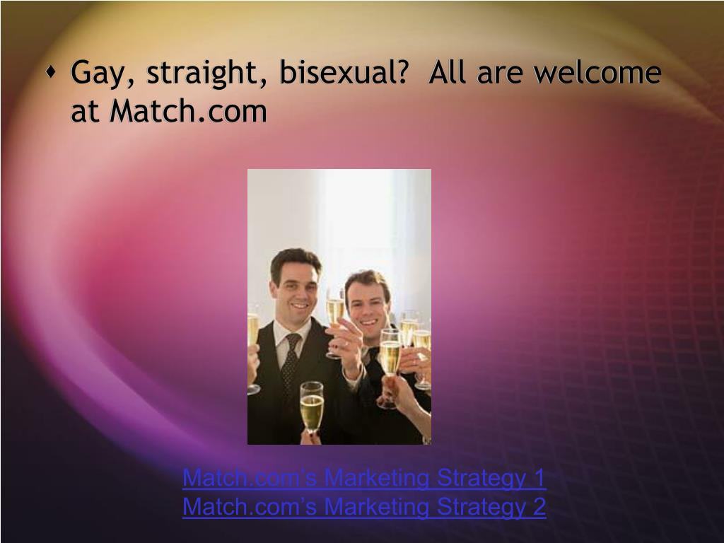 Gay, straight, bisexual?  All are welcome at Match.com