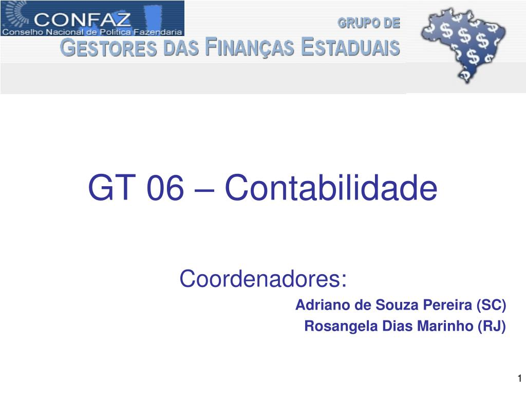 GT 06 – Contabilidade