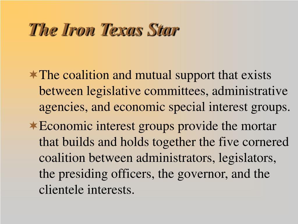 The Iron Texas Star
