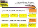 surface plasmon resonance portable biochemical sensing systems summary of effort1