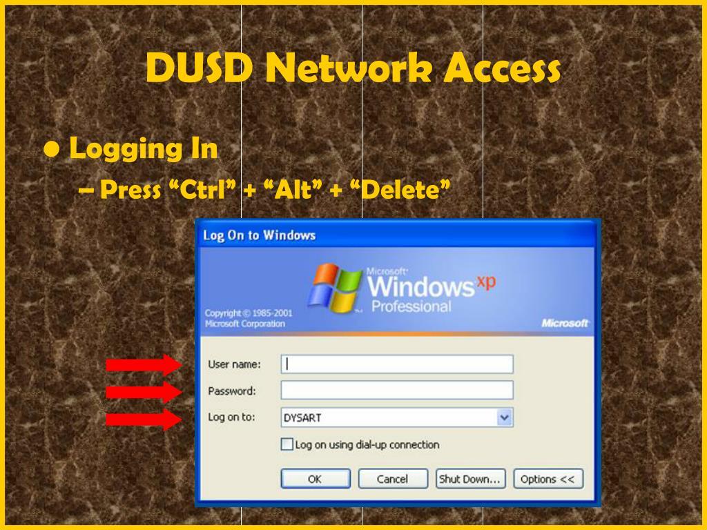 DUSD Network Access