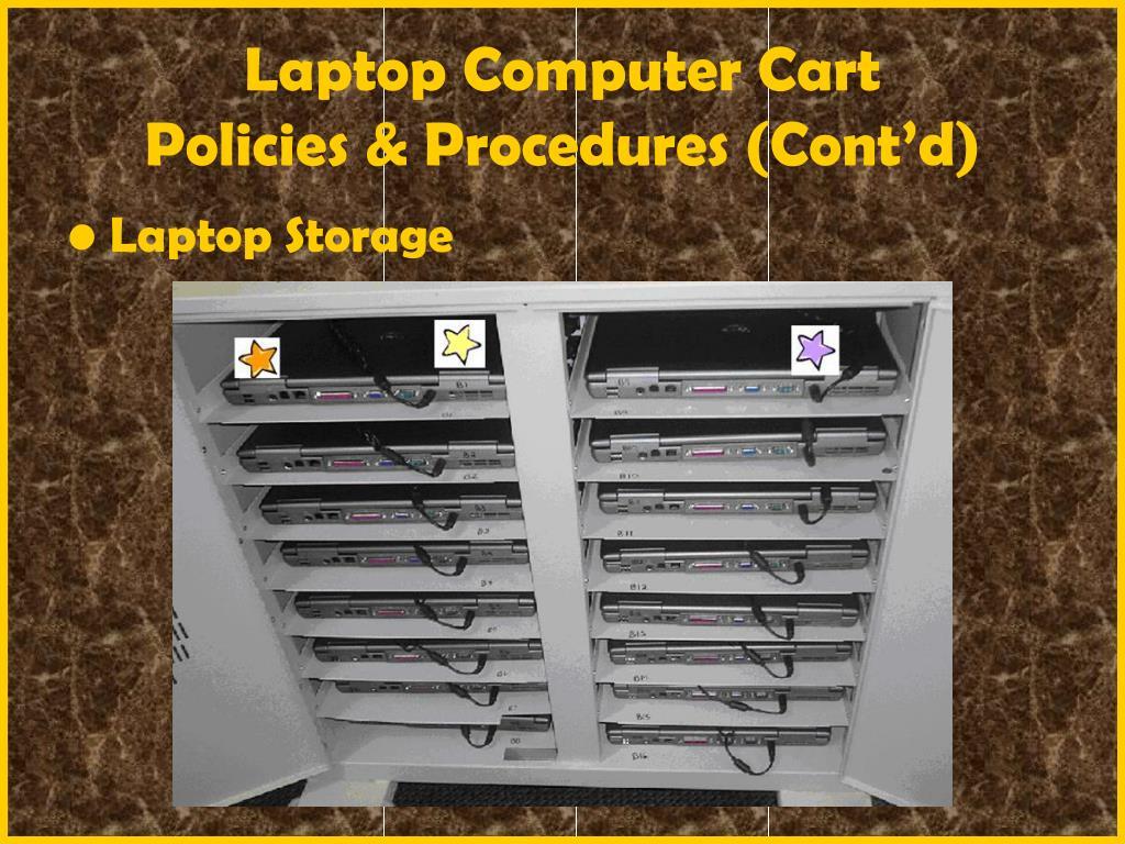 Laptop Computer Cart