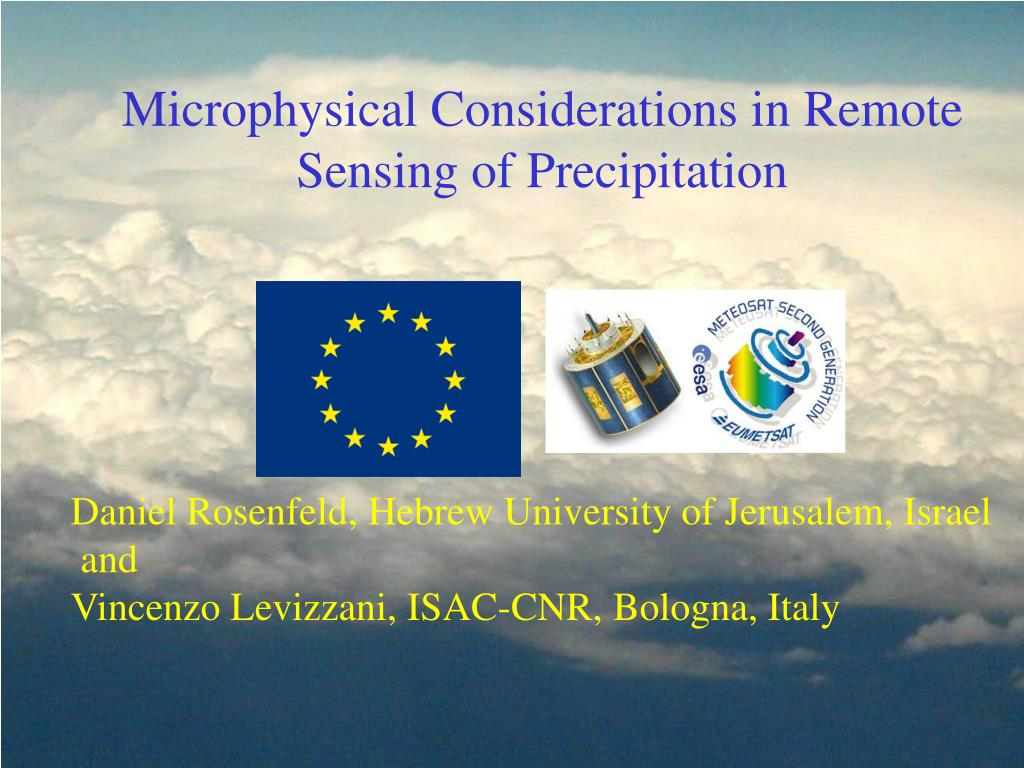 Microphysical Considerations in Remote Sensing of Precipitation