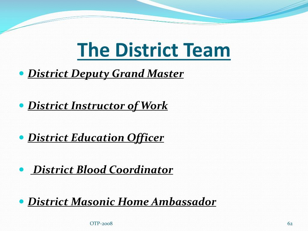 The District Team