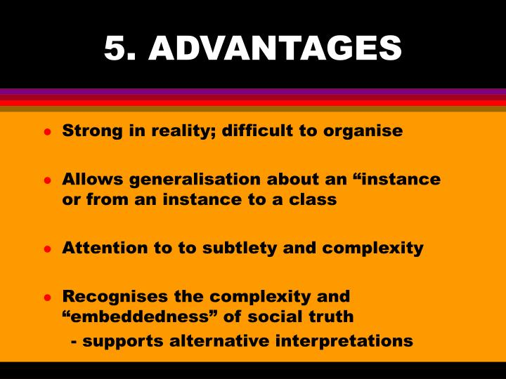 5. ADVANTAGES
