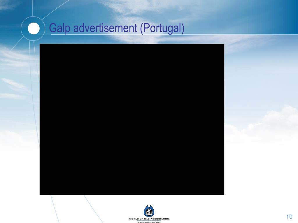 Galp advertisement (Portugal)