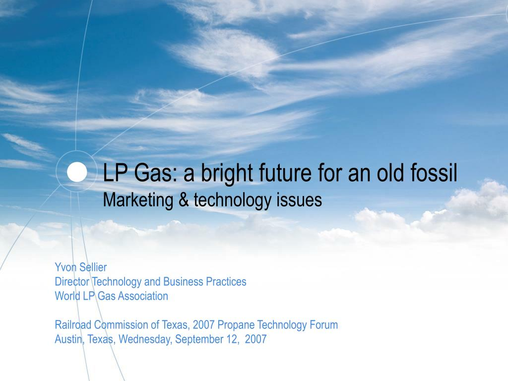 LP Gas: a bright future for an old fossil