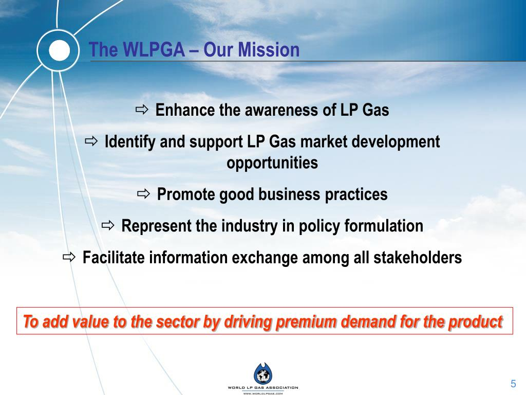 The WLPGA – Our Mission