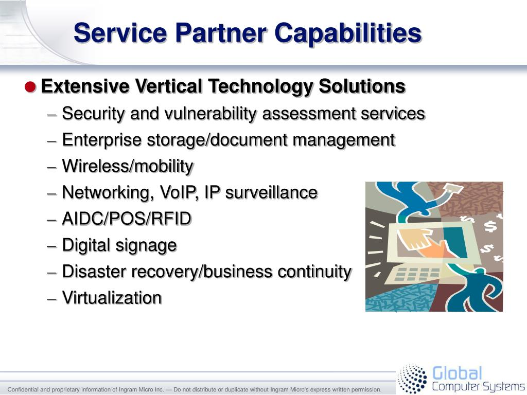 Service Partner Capabilities