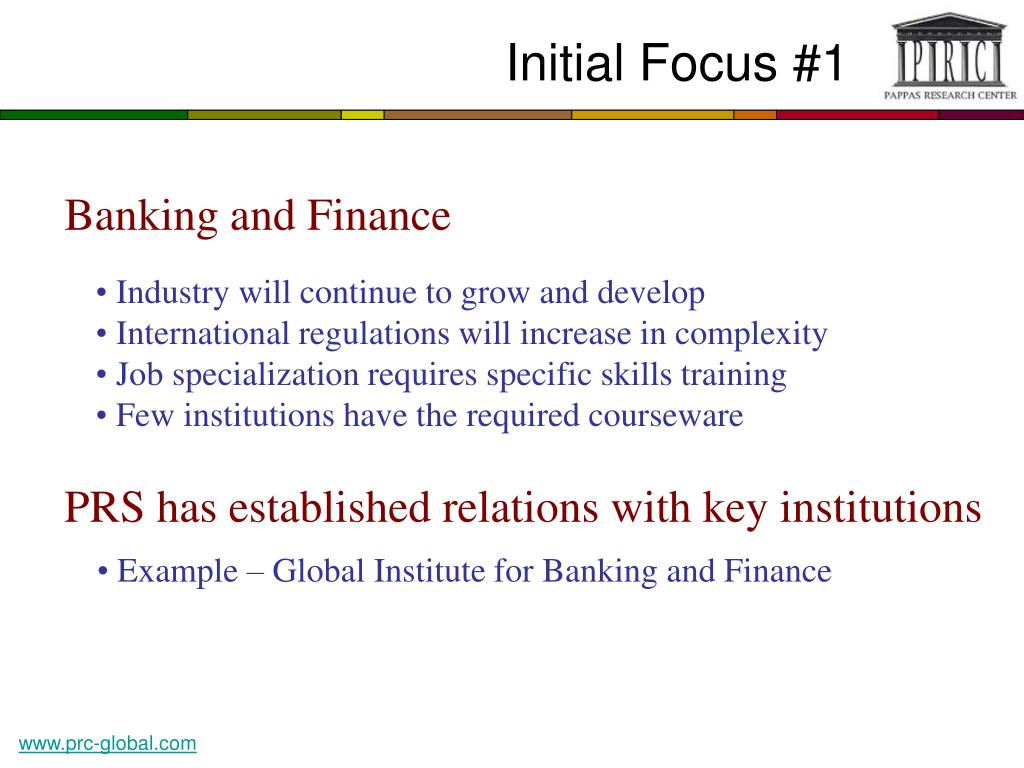 Initial Focus #1