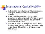 international capital mobility14