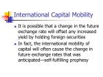 international capital mobility15