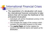 international financial crises24
