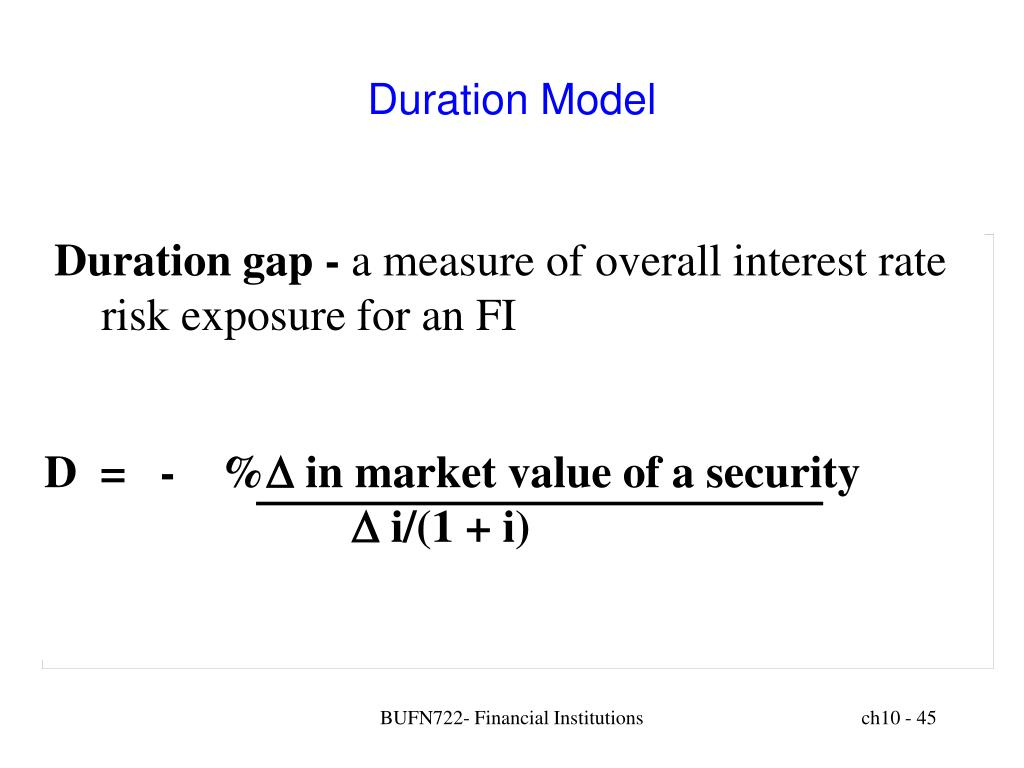Duration Model