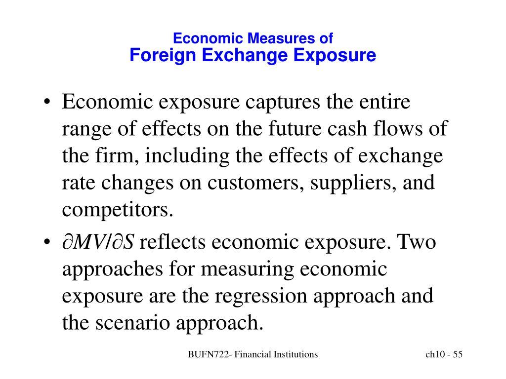 Economic Measures of