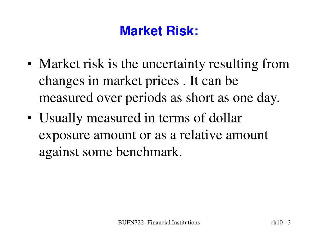 Market Risk: