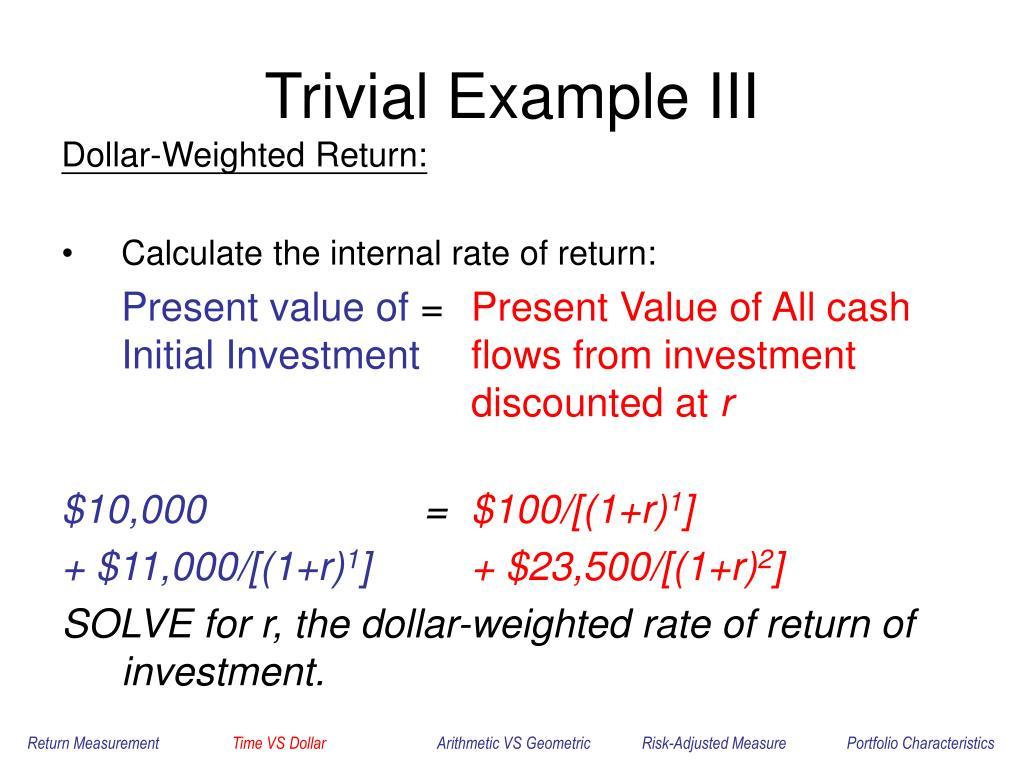 Trivial Example III