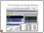 the foreign exchange market28