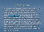 moore s law22