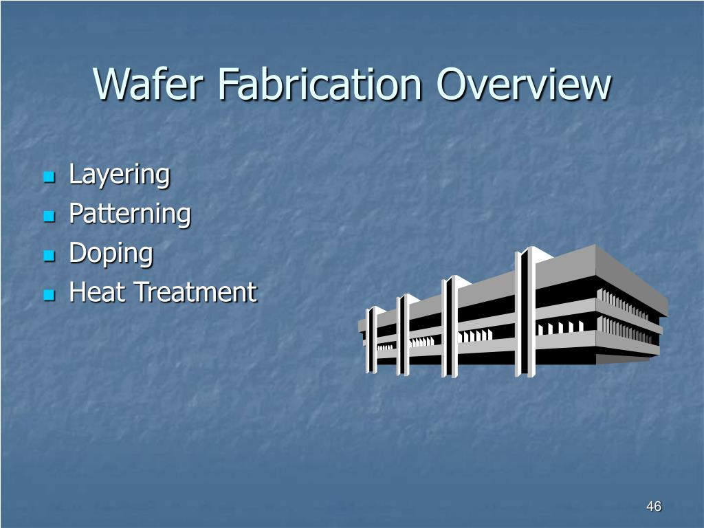 Wafer Fabrication Overview