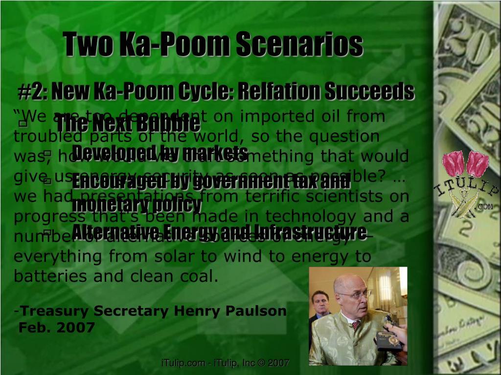 Two Ka-Poom Scenarios