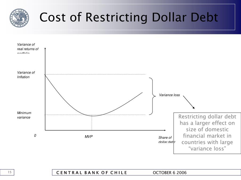 Cost of Restricting Dollar Debt