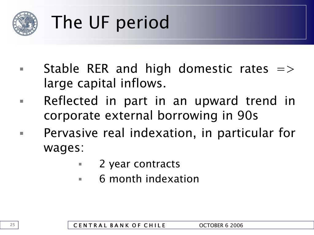 The UF period