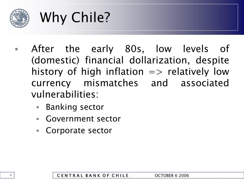 Why Chile?