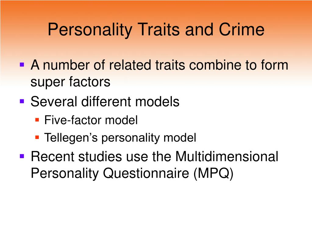 differences between trait theory and personal construct theory Trait theory is based in the experimental approach more recently the phenomenological perspective has made headway into the study of individual differences, as demonstrated by personal construct theory (pct) this essay will start by describing trait theory and pct, highlighting the important differences between the two approaches.