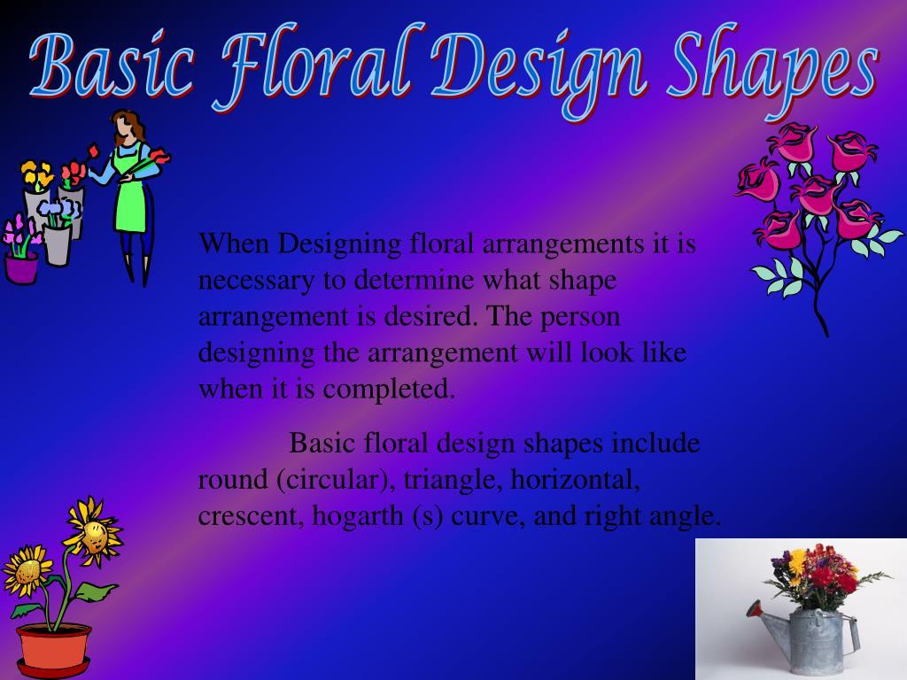 Basic Floral Design Shapes