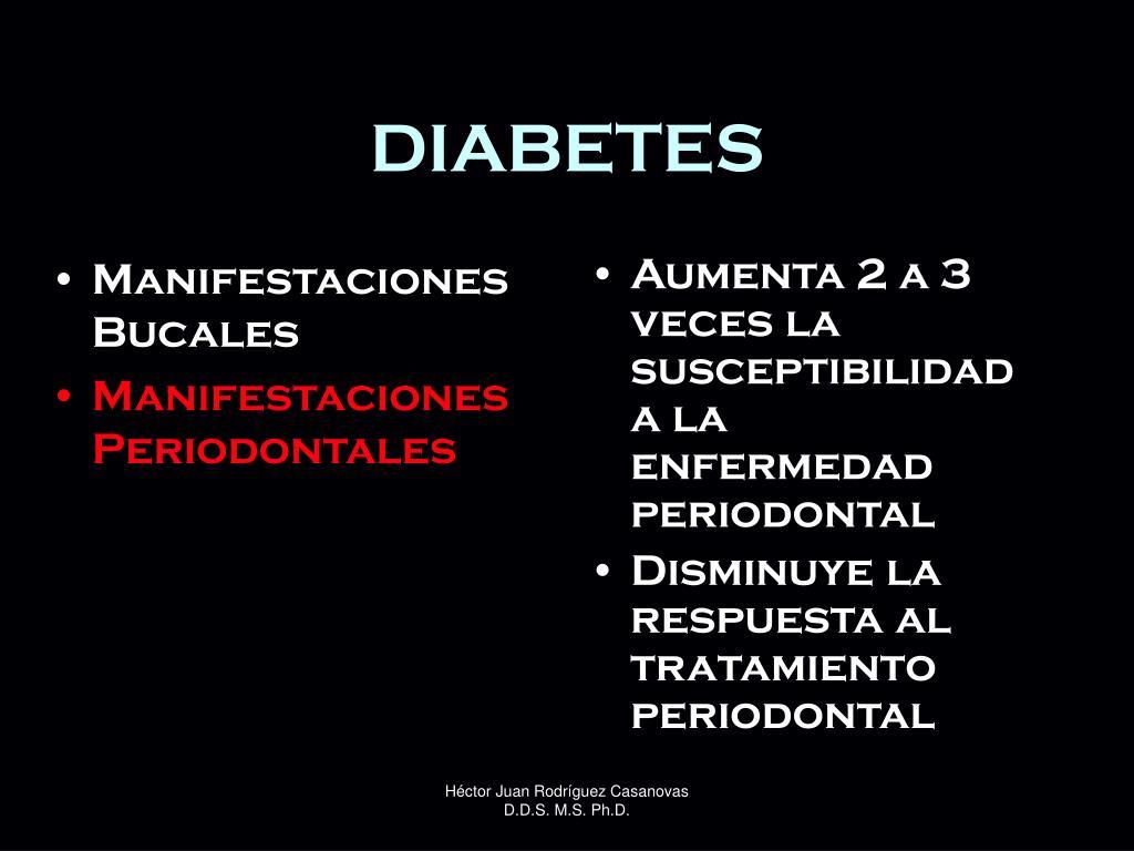 PPT - Enfermedad Periodontal y Diabetes PowerPoint