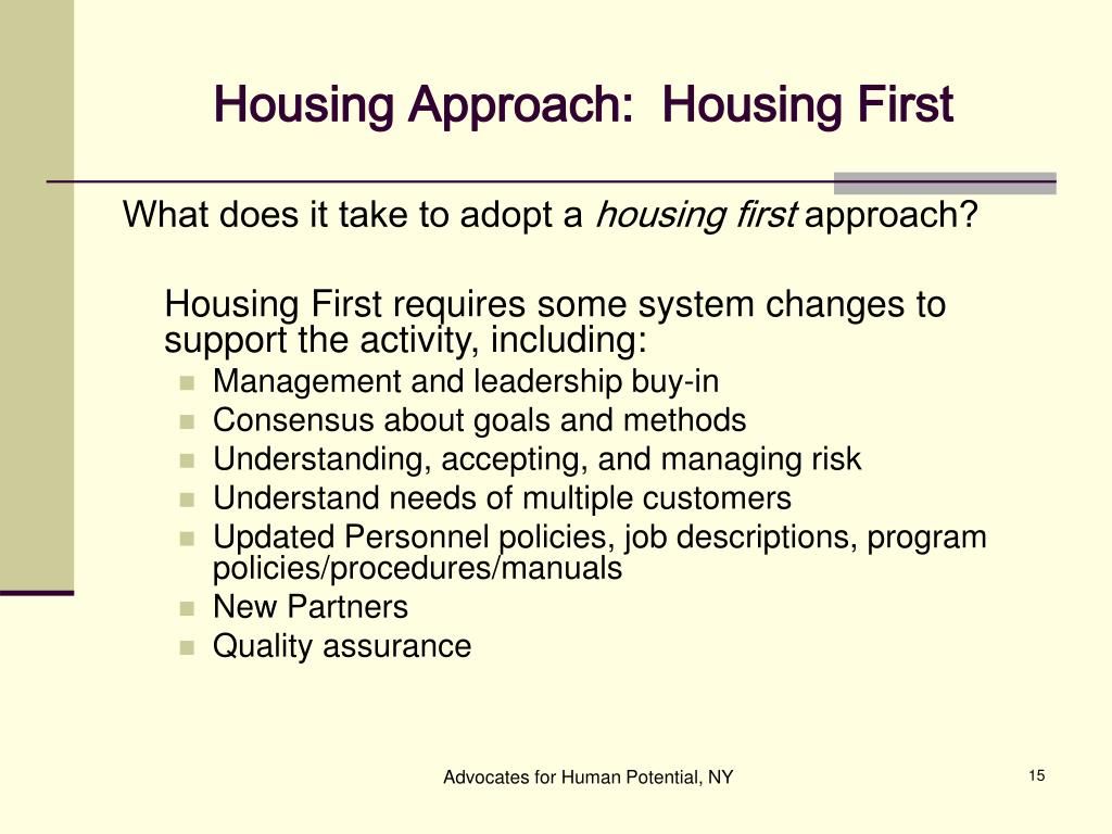housing first and substance abuse Found at 24 months conclusions: these findings show that a housing first intervention can contribute to reductions in alcohol problems over time however, the lack of effect of the intervention on illicit drug problems suggests that individuals experiencing homelessness, mental illness and drug problems may need.