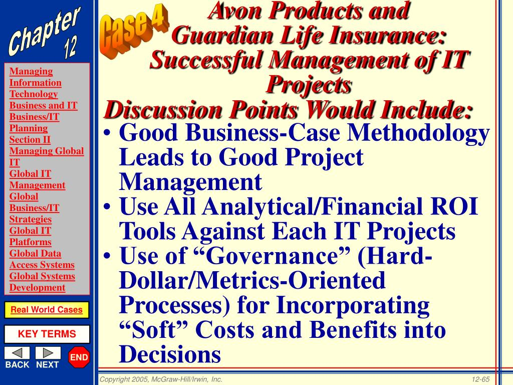 Good Business-Case Methodology Leads to Good Project Management