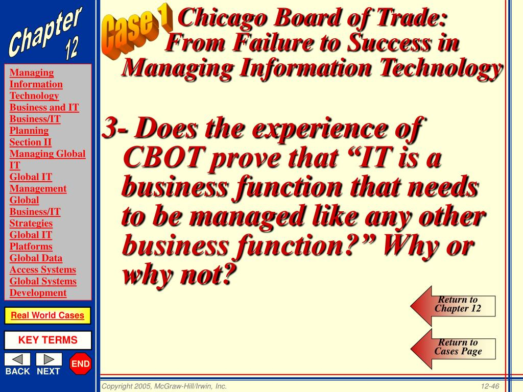 Chicago Board of Trade: